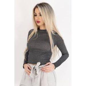 Zara Sparkly Long Sleeve